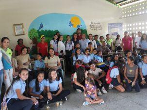 De este modo Coposa promueve jornada de alimentación sana en institutos educativos