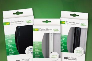 Así puedes recargar tu dispositivo móvil cuando quieras y donde quieras con los nuevos Powerbanks de Baterías Gp