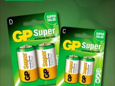 Conoce cómo GP Batteries amplía su portafolio de baterías con las Súper Alcalinas D y C